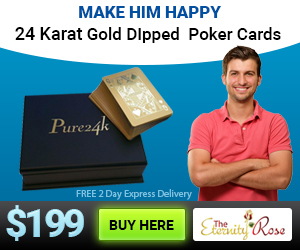 gold cards - retirement gift for him